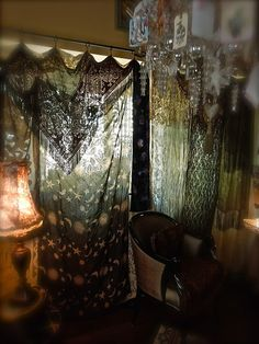 My Grama's Soul: MY GYPSY CURTAIN.......................................