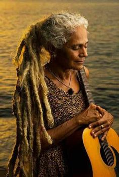 Old Lady dreads...when I'm old and my hair is finally turning gray I'm absoFREAKINlutely putting my hair in dreads just because I CAN!