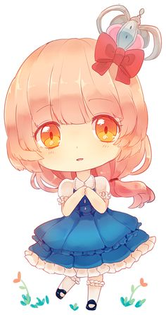 Cute chibi girl.