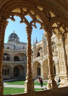 Jeronimos Monastery Cloisters (World Heritage Site)