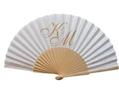 Personalised Party Fans One Row Of Text On The Curve Fan No Minimum Order Worldwide Delivery Favors And Wedding