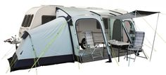 The Integra 325 is full of features and showcases just how far awnings have come.