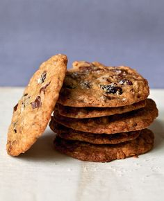 Ina Garten's Salty Oatmeal Chocolate Chunk Cookies from her Make It Ahead cookbook