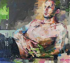 ANDREW SALGADO |  CINEMA 2013 |  Oil on canvas with spray paint - 160x180cm
