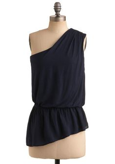 One shoulder top. try to recreate