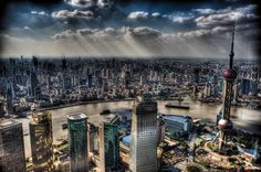HDR photograph by Trey Ratcliff of Shanghai, China