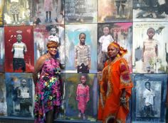 Wall of Courage exhibition highlights orphaned children in Congo DR