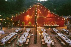 Laid-back California Barn Wedding: Liz + David
