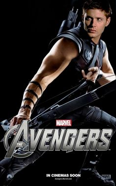 Clint Barton/Hawkeye (Jeremy Renner) - The Avengers Marvel Dc, Films Marvel, Avengers Movies, Marvel Cinematic, Avengers 2012, Hawkeye Avengers, Avengers Poster, Avengers Quotes, Clint Barton