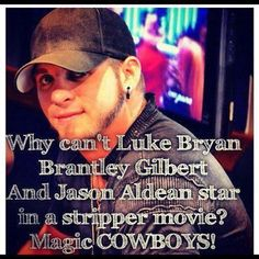 No, just Luke Bryan, Brantley Gilbert and Eric Church.... Jason Aldean can stay at home lol
