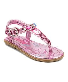 Look what I found on #zulily! Hello Kitty Blythe Sandal - Kids #zulilyfinds
