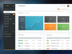 Hi guys, Here is Nukern. A new CRM for the web hosting industry. I won't say more here, except than this design was done 7 months ago, but I can finally share it (my google Redesign took inspirat...