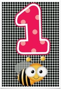 Numbers Counting Display in a Bee Theme - Two creative teachers