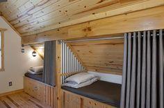 Tiny Attic Studio Apartment Interior