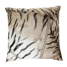Discover the Roberto Cavalli Coussin Patchtigresse - 001 - 60 x 60 cm at Amara