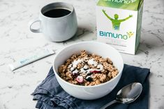 Bimuno DAILY is versatile to take with food or a drink Good Gut Bacteria, High Fiber Foods, Smoothies, Vegetarian, Nutrition, Drink, Healthy, Breakfast, Easy