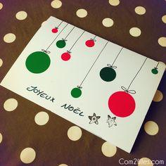 Voici une nouvelle idée de lettre au Père Noël, facile à réaliser, avec des gommettes !