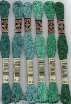 DMC Stranded fil de coton couleur 3827 pour broderie et point de croix