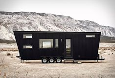 The tiny house trend is officially here to stay. Tiny houses are relatively easy to build and move from place to place, and many people are rejecting more spacious dwellings in favor of pared-down, efficient homes. The Drake tiny house, by Land Ark,