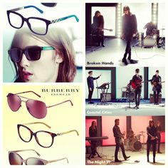 Musical Spirit Sparks Burberry Eyewear Collection: http://eyecessorizeblog.com/?p=4540