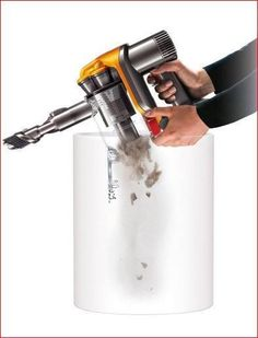 Dyson DC34 Hand-held Vacuum Cleaner Portable Cordless Hygienic Bin Emptying New #Dyson