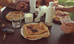 typical Albanian breakfast