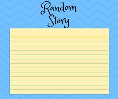 This is a fun way for your student or child to practice their writing with different prompts. Prompts, Activities For Kids, Kindergarten, Student, Writing, Children, Fun, Life, Ideas