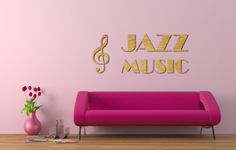 Jazz music od 30 x 20 cm do 200 x 100 cm