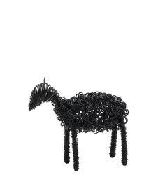 Sheep made of iron wire, Bruka Design