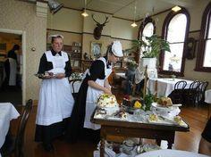 Annie's Victorian Tearoom, Oamaru, New Zealand. Victorian Decor, Victorian Era, All Kinds Of Everything, South Island, New Zealand, Trip Advisor, Table Settings, Restaurant, Room Ideas