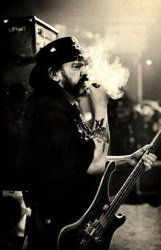 Ian Fraser 'Lemmy' Kilmister 1945 - 2015. Rock in Peace Lemmy we'll miss ya.