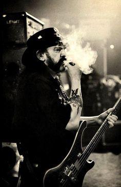 Ian Fraser 'Lemmy' Kilmister 1945 - 2015. Rock in Peace Lemmy we'll miss ya.