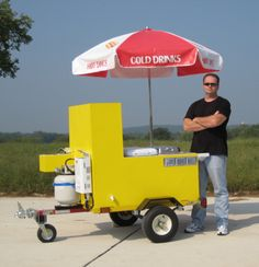 You can build this hot dog cart