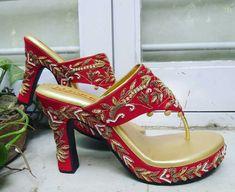 Knee High Stiletto Boots, High Heels, Churidar, Sharara Suit, Indian Shoes, Cheap Womens Shoes, Bridal Sandals, Manolo Blahnik Heels, Indian Bridal Fashion