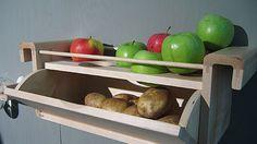 Πατάτες,κρεμμύδια και μήλα…πως να τα αποθηκεύσουμε.
