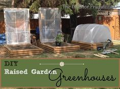 DIY Greenhouse For Raised Garden Beds