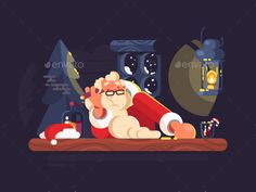Buy Bad Santa Claus by on GraphicRiver. Bad santa claus smoking cigar and drinking alcohol. Flat Design Illustration, Man Illustration, Business Illustration, Christmas Illustration, Character Illustration, Digital Illustration, Vector Animation, Bad Santa, Christmas Graphics