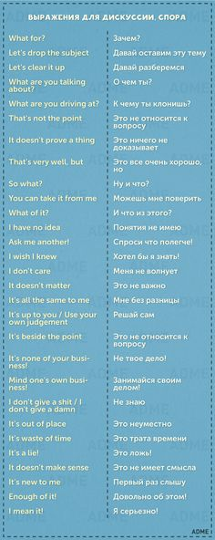 How to argue in Russian