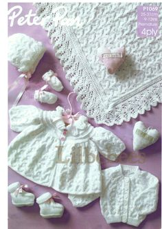 Baby Knitting Pattern PDF. Premature sizes baby by Lilbebebes