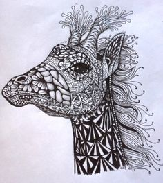 "E Z Art - ""Zentangle® . . . . . anything is possible one stroke at ..."