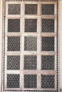 Stephen Reid photography | Carved Screen, 2013 | Gwalior, India