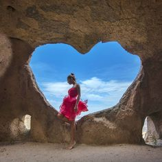 Love is everywhere, and any place you go. It follows you both day and night, through rain, sun, and snow. You might not always have sees, or felt love, but it's always been there for you… ❤ 📷 Photo Credit @gbirgul this locatuon is Cappadocia, Turkey...