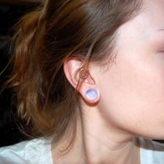 Ear Stretching How To Gauge Your Ears AuthorityTattoo in attachment with category Piercings Piercing Bump, Body Piercings, Piercing Tattoo, Ear Jewelry, Body Jewelry, Jewellery, Ear Gauge Sizes, Tapers And Plugs, Plugs Earrings