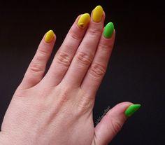 Żółto - zielone neony Lemax - NAILmouflage