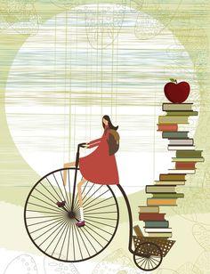 Mi bici, mis libros