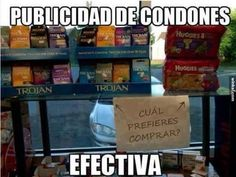 Which ones would you like best? Condoms or diapers?