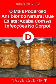 Antibióticos naturais | O Mais Poderosos Antibiótico Natural Que Existe: Acaba Com As Infecções No Corpo!