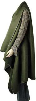 Berroco® Free Pattern | SurplusBlanketCoat--pattern is archived but available here