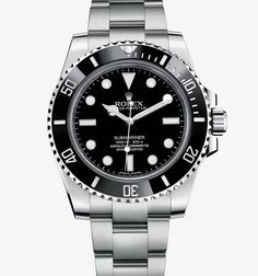 """Rolex Submariner : Let's put it this way... your wrist would corrode before 306L Stainless steel ever would... 916 Stainless steel is just so Rolex can be """"above the rest."""""""