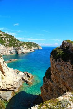 Standing on Tripitos Arch, Paxos Island Paxos Island, Arch, Water, Places, Outdoor, Gripe Water, Outdoors, Lugares, The Great Outdoors